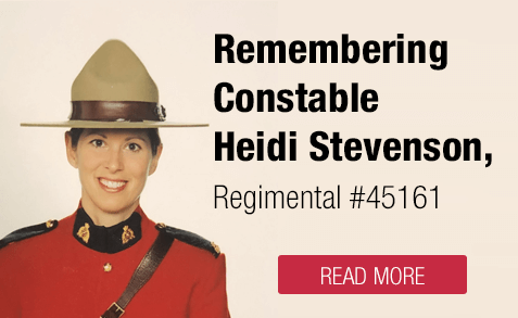 Remembering Constable Heidi Stevenson
